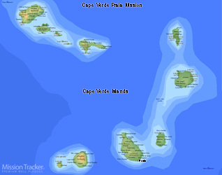 Cape Verde Praia Mission LARGE (11X14) Digital Download Only