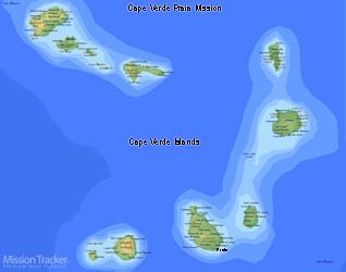 Cape Verde Praia Mission LARGE (11X14) Digital Download Only