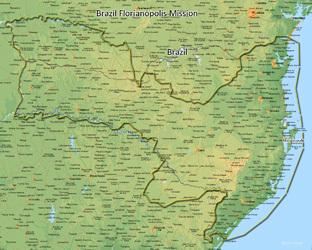 Brazil Florianopolis Mission Medium (8X10) Digital Download Only