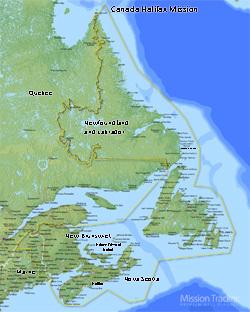 Canada Halifax Mission Medium (8X10) Digital Download Only