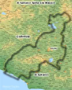 El Salvador Santa Ana Mission Medium (8X10) Digital Download Only