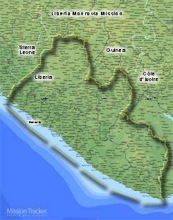 Liberia Monrovia Mission Medium (8X10)- Horizontal Digital Download Only