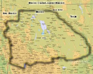 Mexico Ciudad Juarez Mission Medium (8X10) Digital Download Only