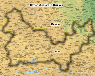 Mexico Queretaro LARGE (11X14) Digital Download Only