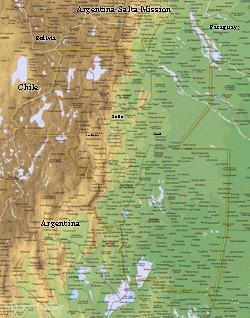 Argentina Salta Mission Medium (8X10) Digital Download Only