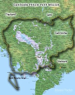 Cambodia Phnom Penh Mission Medium (8X10) Digital Download Only