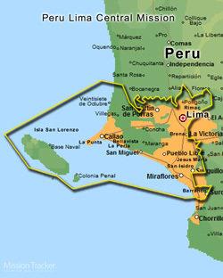 Peru Lima Central Mission LARGE (11 X 14)  Digital Download Only