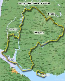 Uruguay Montevideo West Mission Medium (8X10) Digital Download Only