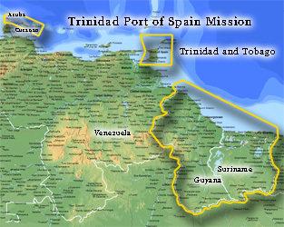 Trinidad Port of Spain Mission Medium (8X10) Digital Download Only