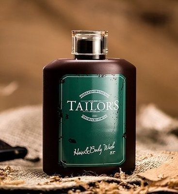 TAILOR'S HAIR & BODY WASH Шампунь для мытья волос и тела 250 мл