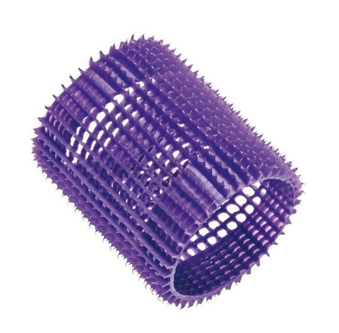 EUROSTIL Бигуди фиолетовые пластиковые (5 шт/уп)