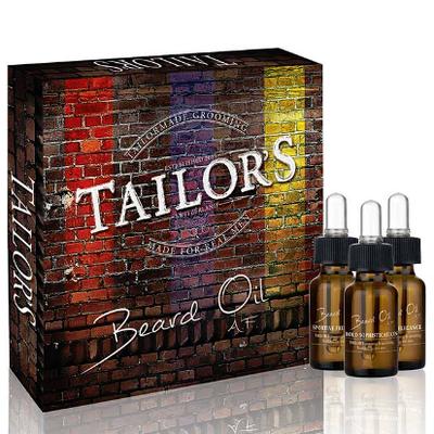 TAILOR'S BEARD OIL SET Набор масел для бороды 3 шт.*10 мл