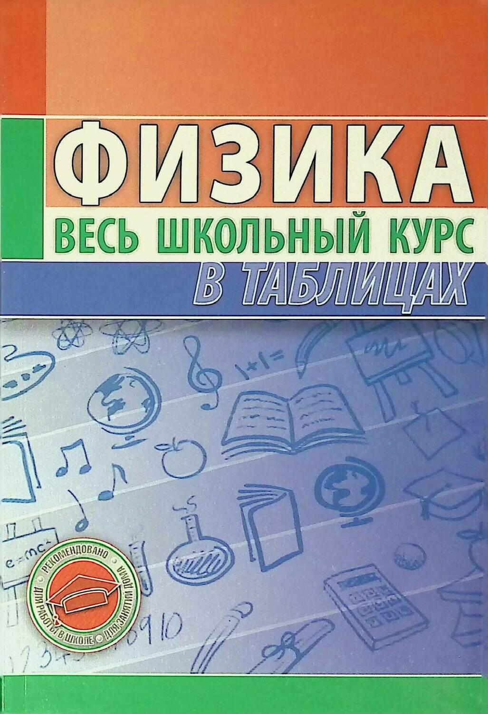 Физика. Весь школьный курс в таблицах; Тульев В.В.