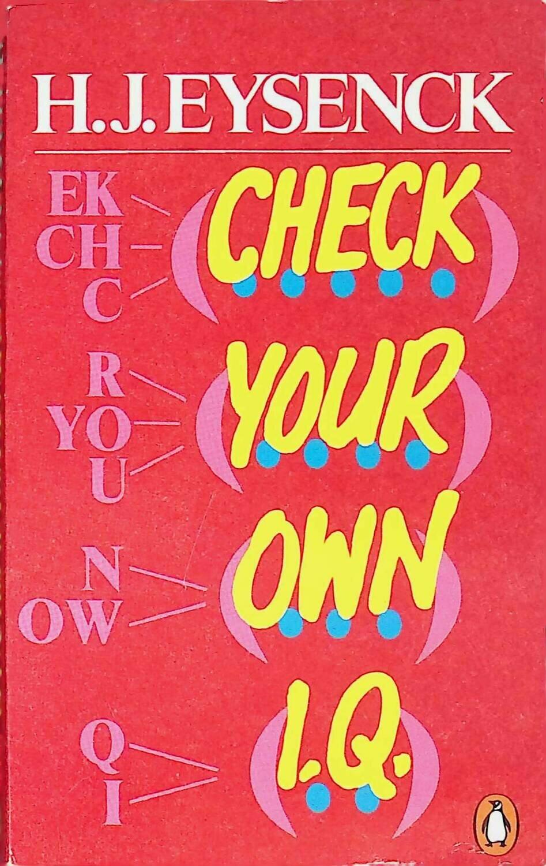 Check Your Own I.Q.; Hans J. Eysenck