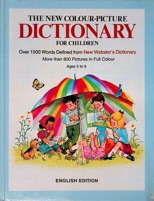 The new colour-picture dictionary for children; Bennett Archie