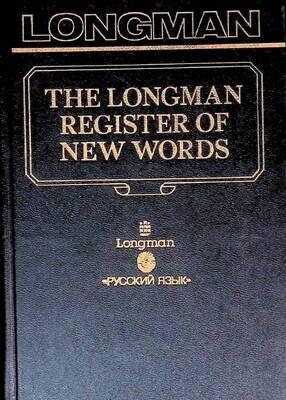 The Longman register of new words; John Ayto