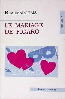 Le Mariage de Figaro; Beaumarchais