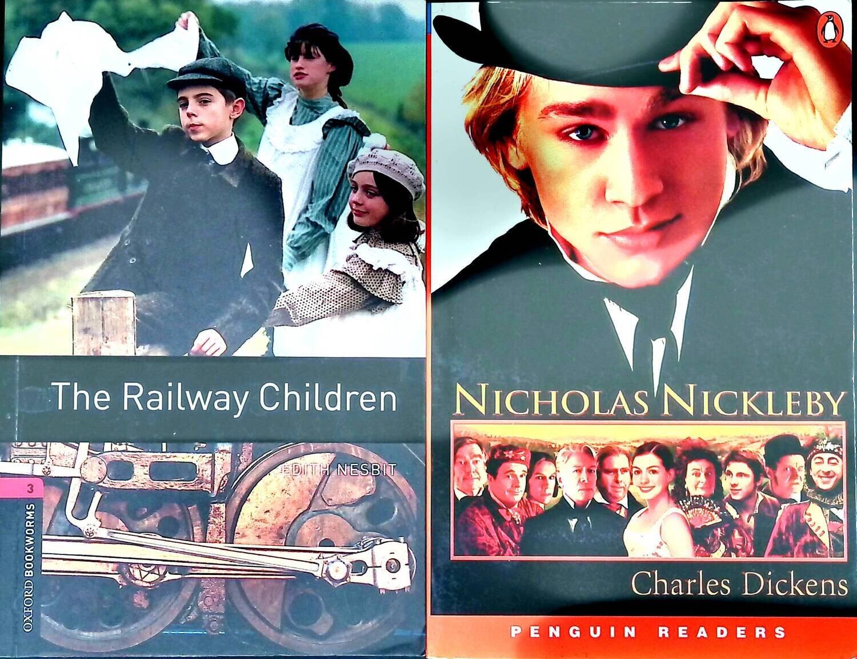 Комплект из 2 книг: The Railway Children; Nicholas Nickleby; John Escott, Charles Dickens