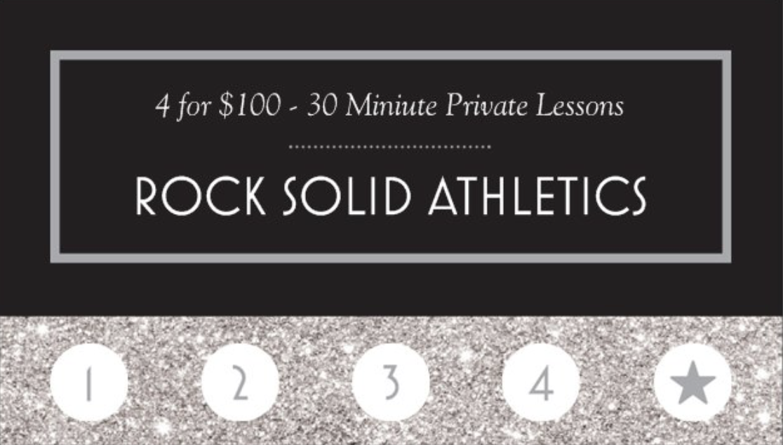 4 - 30 MINUTE PRIVATE LESSONS FOR $125