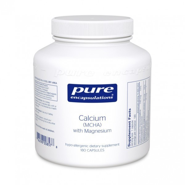 Calcium (MCHA) with Magnesium 180's