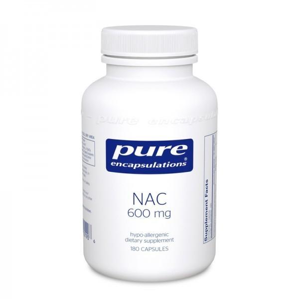 NAC (n-acetyl-l-cysteine) 600 mg (180 capsules)