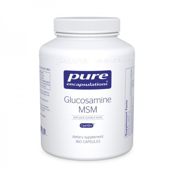 Glucosamine/MSM with joint comfort herbs‡