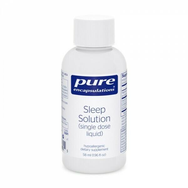 Sleep Solution (single dose liquid) - box of 6 - IMPROVED PRICE