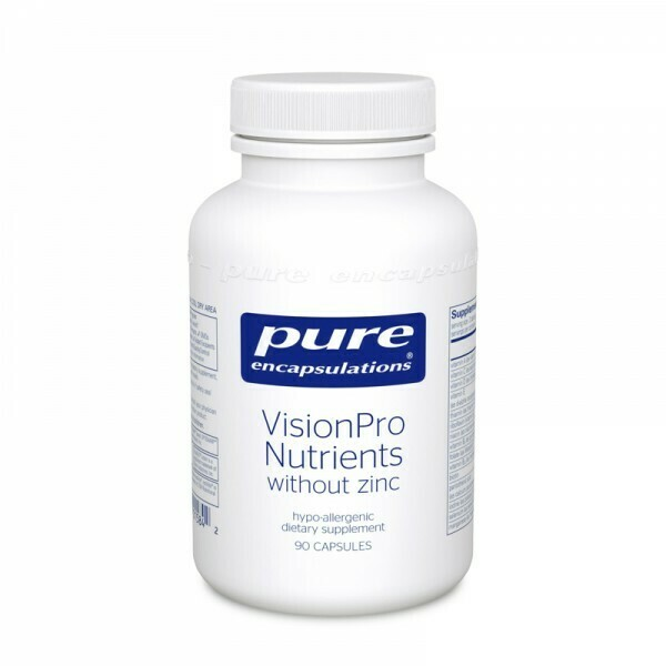 VisionPro Nutrients (without zinc)‡ 90's