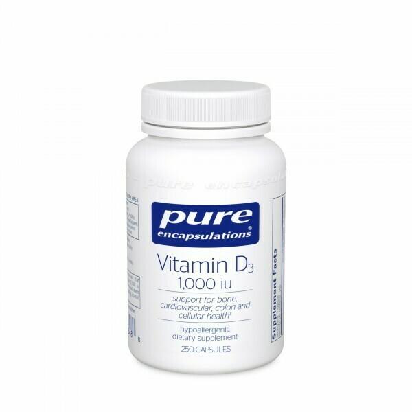 Vitamin D3 25 mcg (1,000 IU)