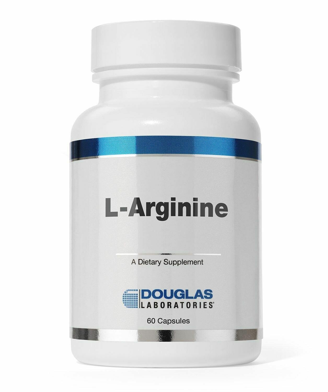 L-Arginine 500 mg. (60 count)