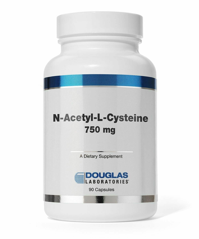 N-Acetyl-L-Cysteine 750 mg.