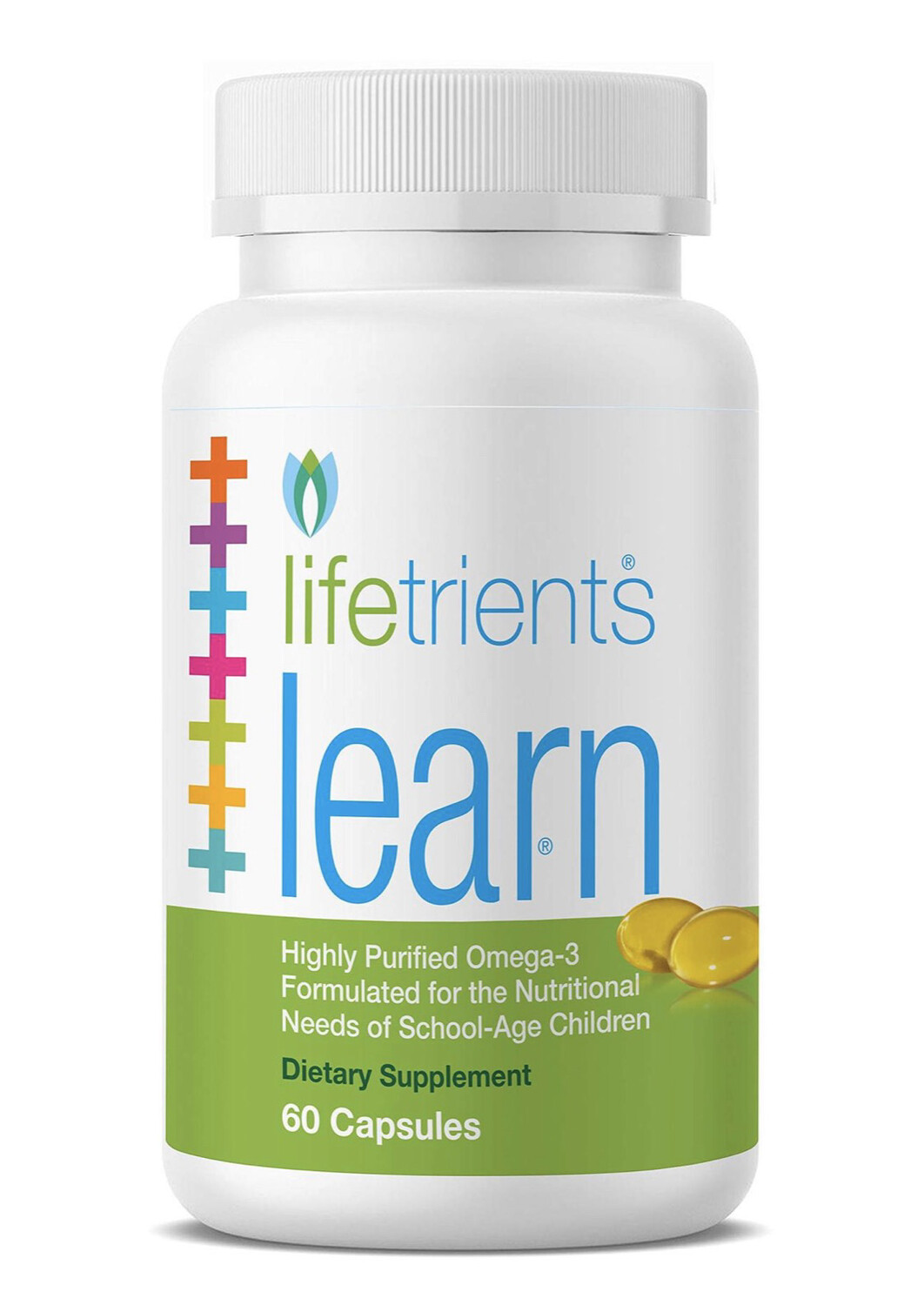 Learn – 60 Capsules – Highly Purified Omega-3
