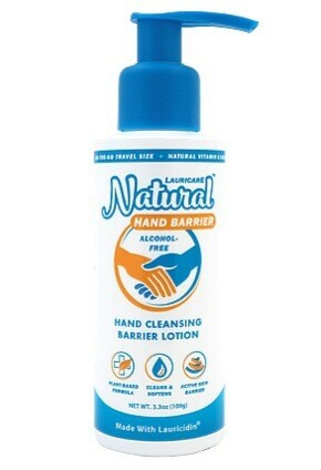 Lauricare™ Natural Hand Barrier 3.3oz.