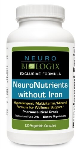 Neuro Nutrients without Iron - 120 Capsules