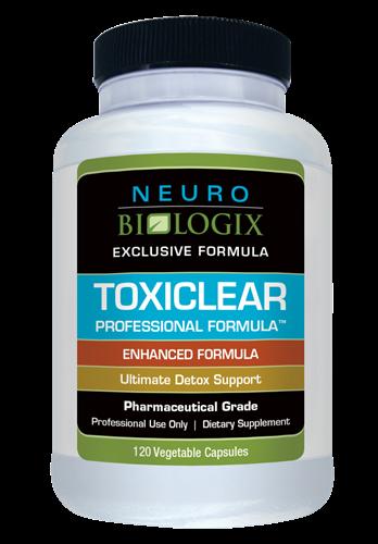 Toxiclear Professional Formula - 120 Capsules