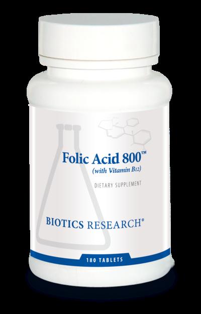 Folic Acid 800™ (with B12)