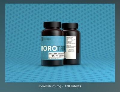 BoroTab 75 mg - 120 Tablets