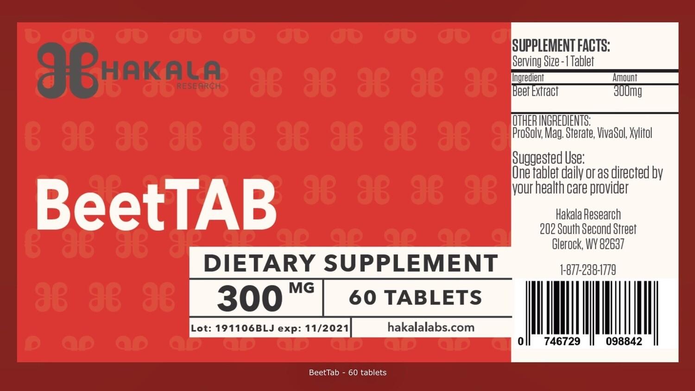 BeetTab - 60 tablets
