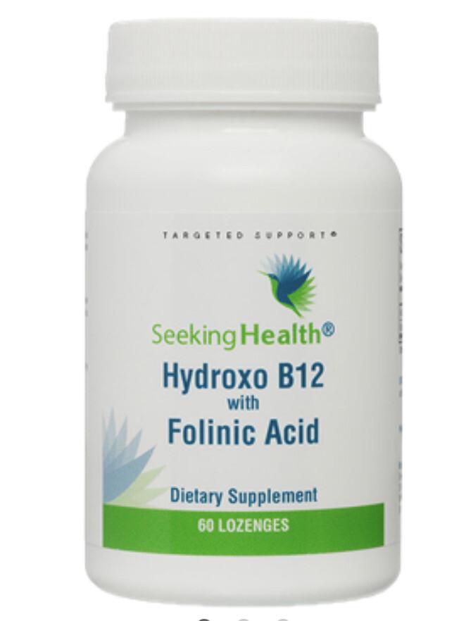 Vitamin B12 (as hydroxocobalamin and folinic)  60 loz