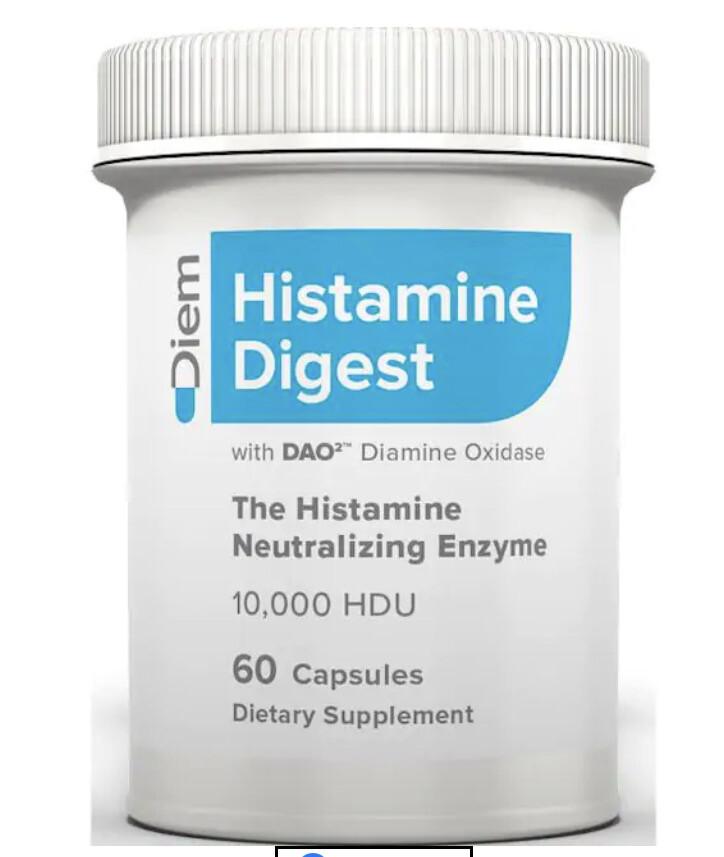Histamine Digest DAO 120 Capsules