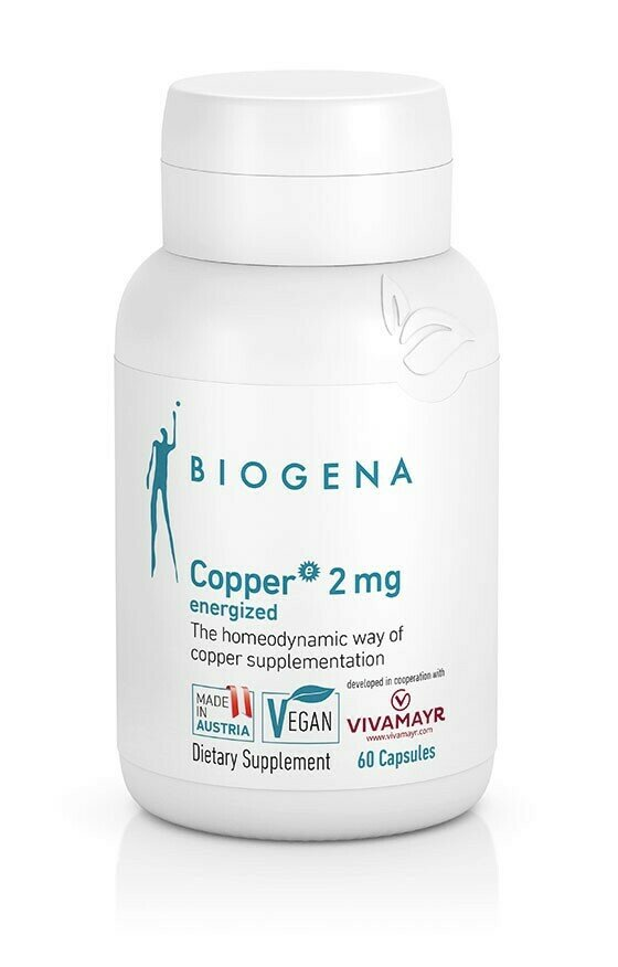 Copper 2 mg energized