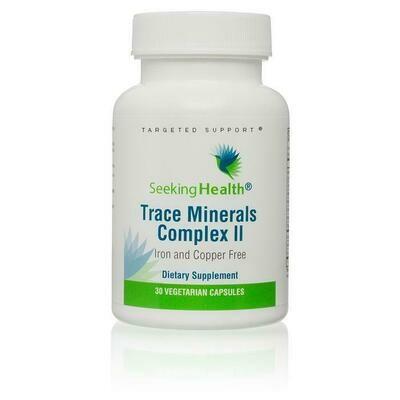 Trace Minerals Complex II - 30 Capsules
