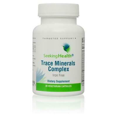 Trace Minerals Complex - 30 Capsules