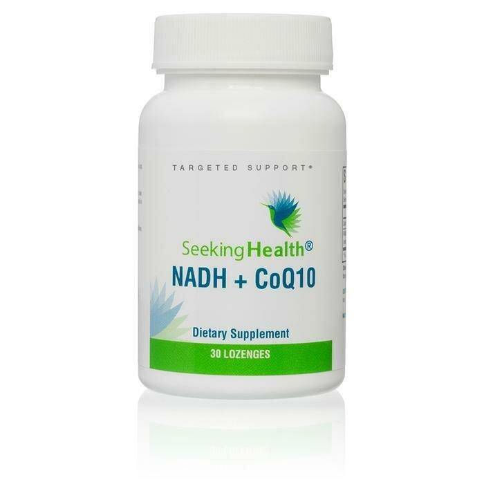 NADH + CoQ10 - 30 Lozenges