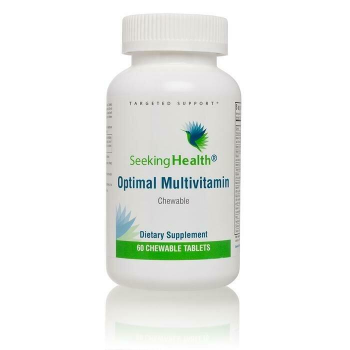 Optimal Multivitamin Chewable - 60 Tablets