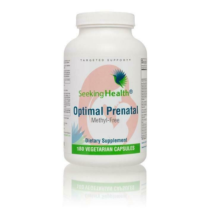 Optimal Prenatal Methyl-Free - 180 Capsules