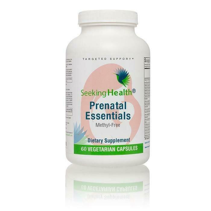 Prenatal Essentials Methyl-Free - 60 Capsules