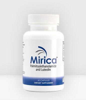 Mirica® 120 Capsules - Palmitoylethanolamide (PEA) +  Luteolin + SF Lecithin
