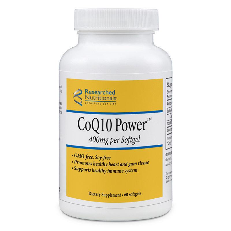 Co Q10 Power™ 400 mg (GMO-free)