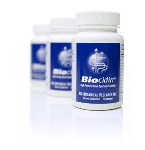 Biocidin® Capsules Potent Broad-Spectrum Botanical Combination